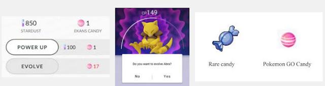 poketshop, pokeball, candy pokemon go item