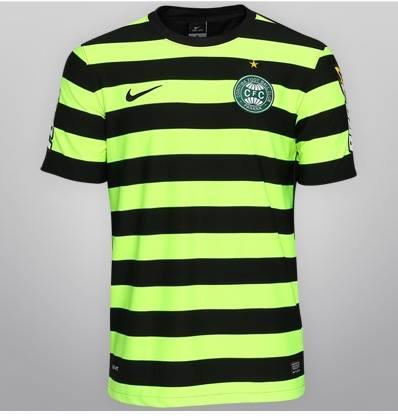 Coritiba tem nova terceira camisa que dividiu opiniões na internet ... 1f43e0167e3e8