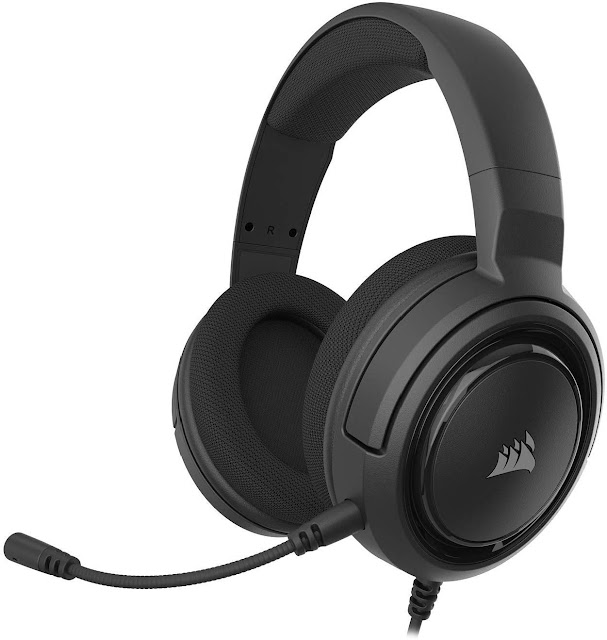 Corsair HS45-7.1 Virtual Surround Sound PC Gaming Headset