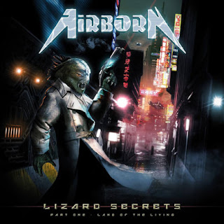 "Το single των Airborn ""Who We Are"" από το album ""Lizard Secrets: Part One - Land of the Living"""