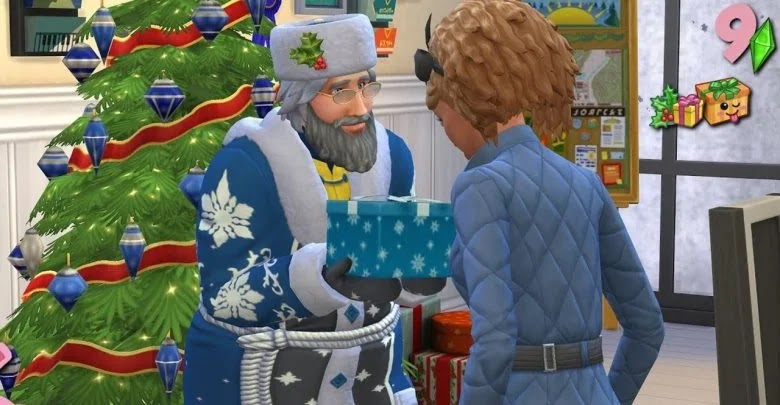 How to make the Father of Winter appear in The Sims 4: And the Four Seasons