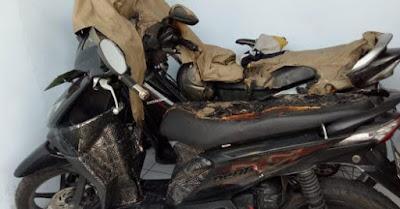 Pria Misterius Bakar 3 Motor Di Semarang