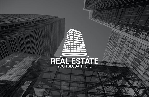 Real Building - Real Estate Logo Building Design