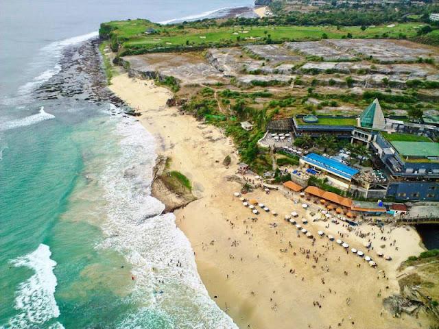 Pantai Hits di Bali yaitu Dreamland