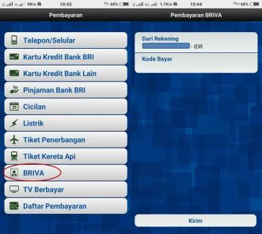 Bayar BPJS Via Bri Mobile Banking dan Internet Banking