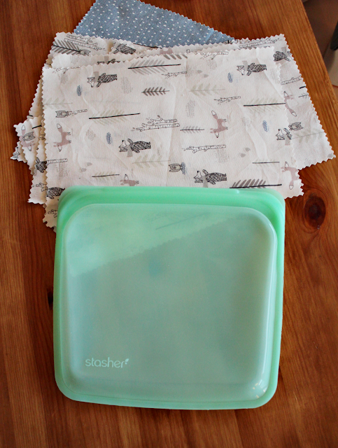 Stasher silikonbag til hjemmelagde våtservietter
