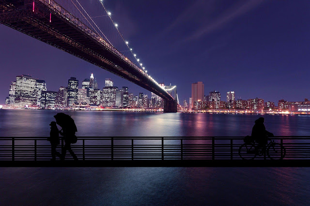 صور جميلة لمدينة نيويورك ليلا 4k