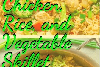 Chicken, Rice, and Vegetable Skillet