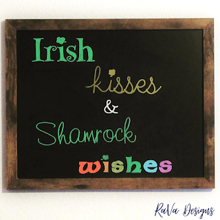 st. patrick's day decor chalkboard lettering art ideas march