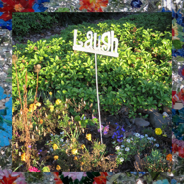 Laugh - Garden Sign