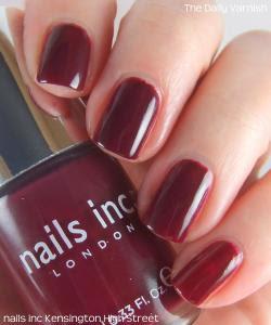 Kensington High Street nails inc. vernis