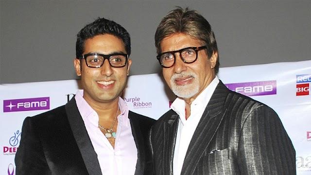 Amitabh Bachchan en zoon Abhishek Covid-19 positief getest