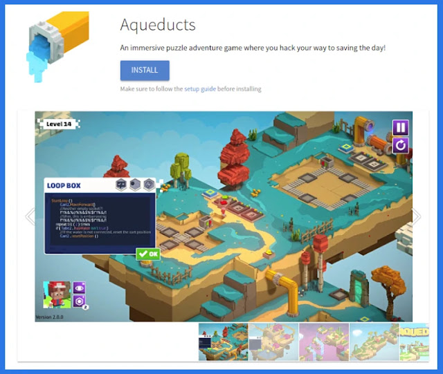 jogos-games-educacionais-educação-logica-matemática-endless-studios-linux-flatpak-ubuntu-mint-ensino-infantil-escola-aqueducts
