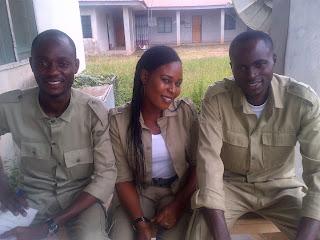 Nigerian Nysc members