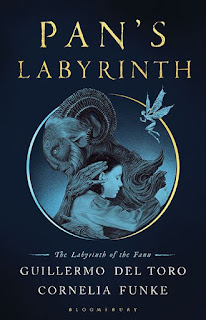 Pan's Labyrinth - The Labyrinth of the Faun by Guillermo del Toro & Cornelia Funke book cover