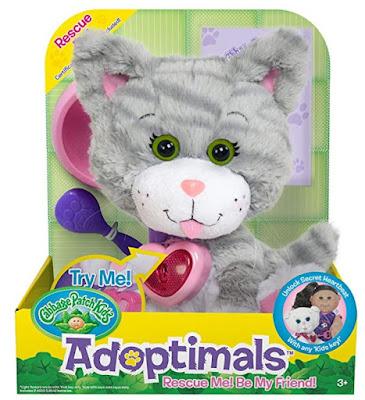 Серый полосатый котик Adoptimals