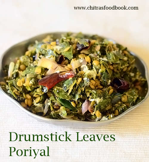 Drumstick leaves poriyal / Murungai keerai poriyal recipe