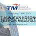 Telekom Malaysia buka 17 jawatan kosong dengan gaji dan insentif menarik. Ini cara untuk mohon