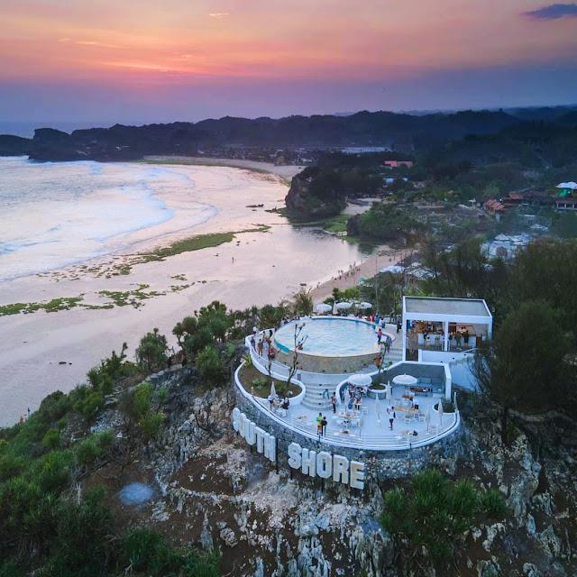 Lokasi dan Harga Tiket Masuk South Shore Pantai Ngandong Gunung Kidul