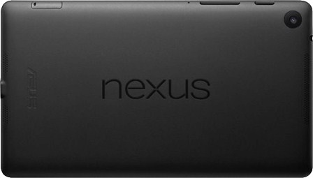 Nexus 7 2nd Gen back