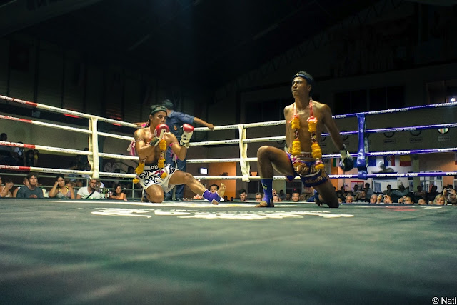 Box Thai or Muay Thai in bangkok