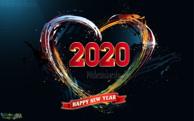 Happy New Year 2020 Love Wallpapers Download Free