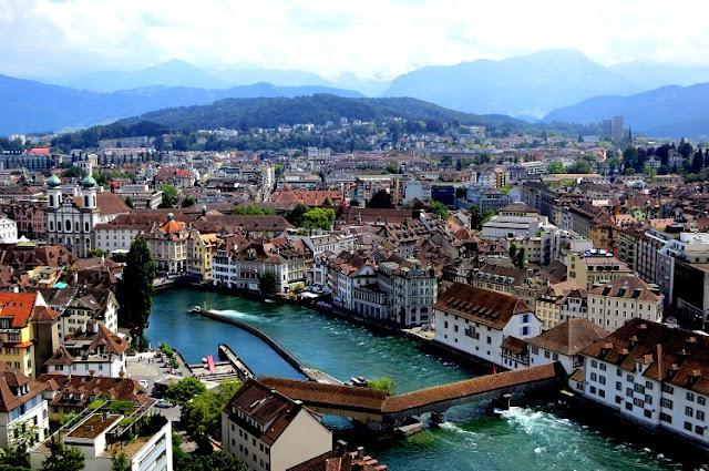 Aluguel de carro em Lucerna na Suíça