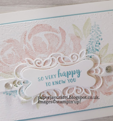 Beautiful Friendship Detailed Bands Dies Stampin Up