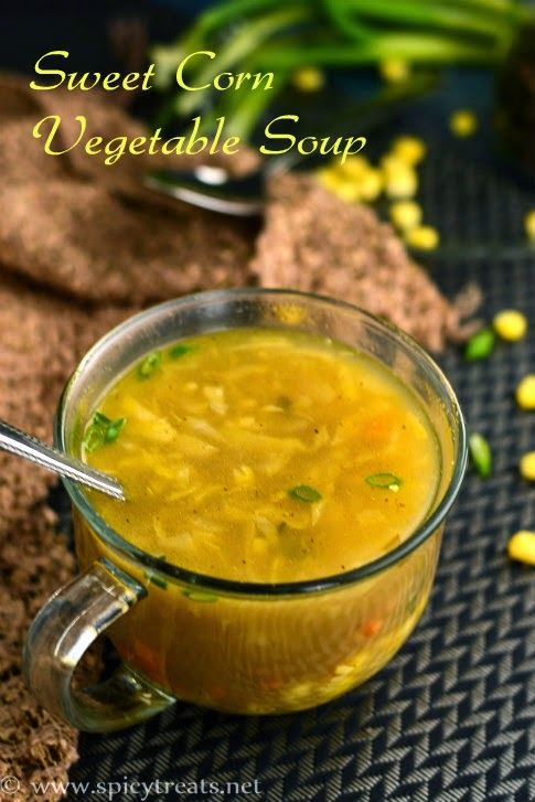 Corn Vegetable Soup