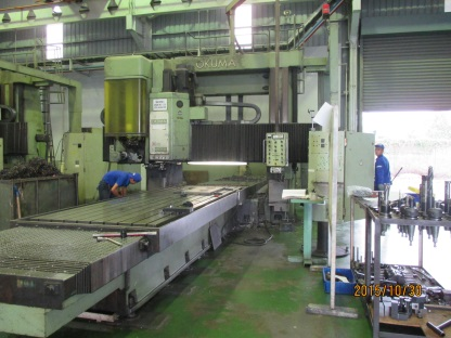Double Column Type Machining Center №1 2000×4000