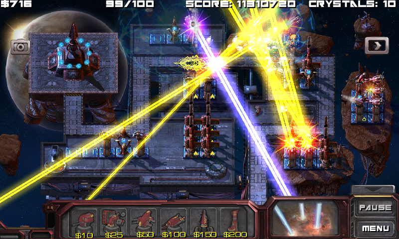 Defense Matrix: Alien Invasion v1 0 0 Mod (Unlimited Gold) APK Free