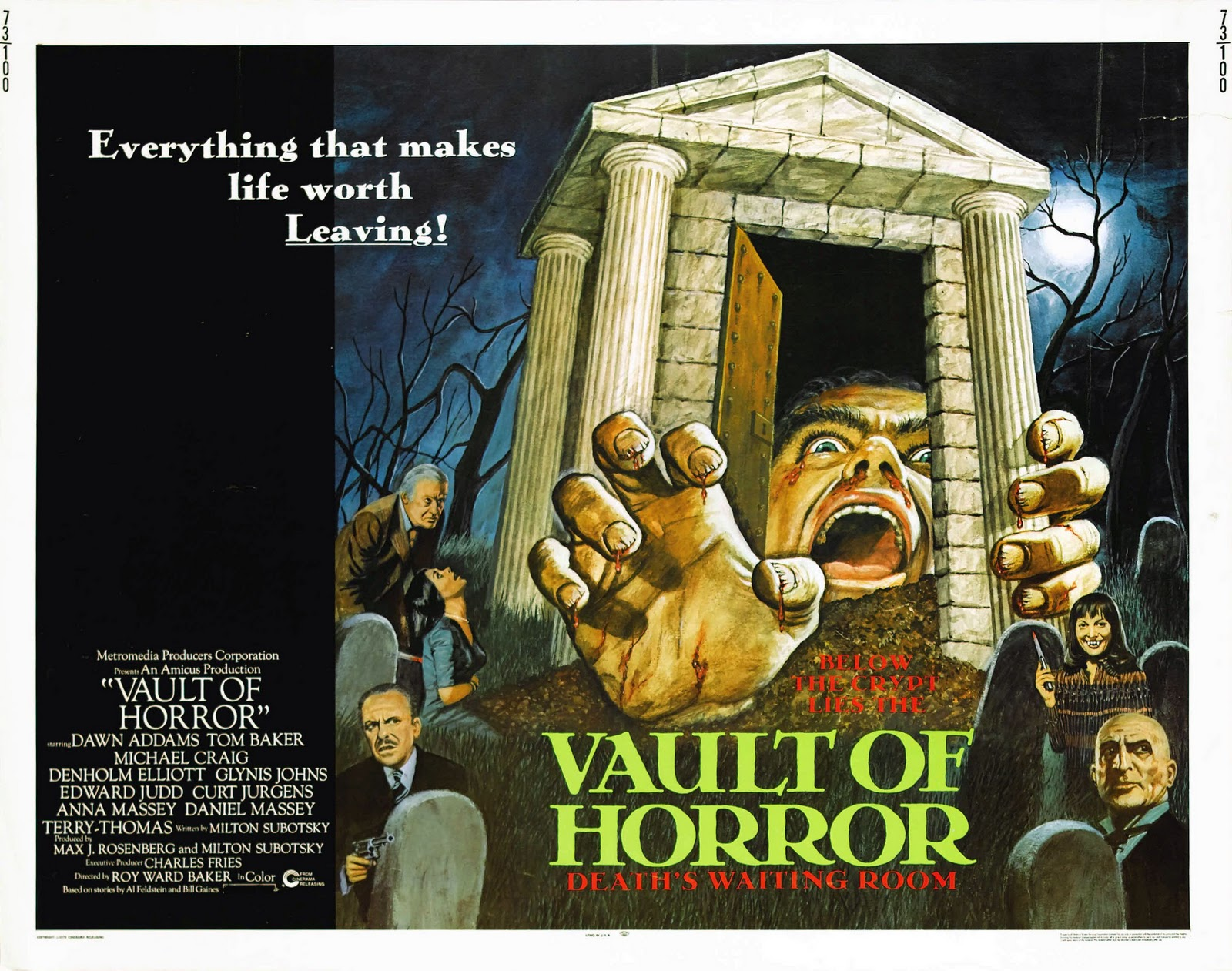 The Geek Shall Inherit The Earth: Retro review: The Vault ...