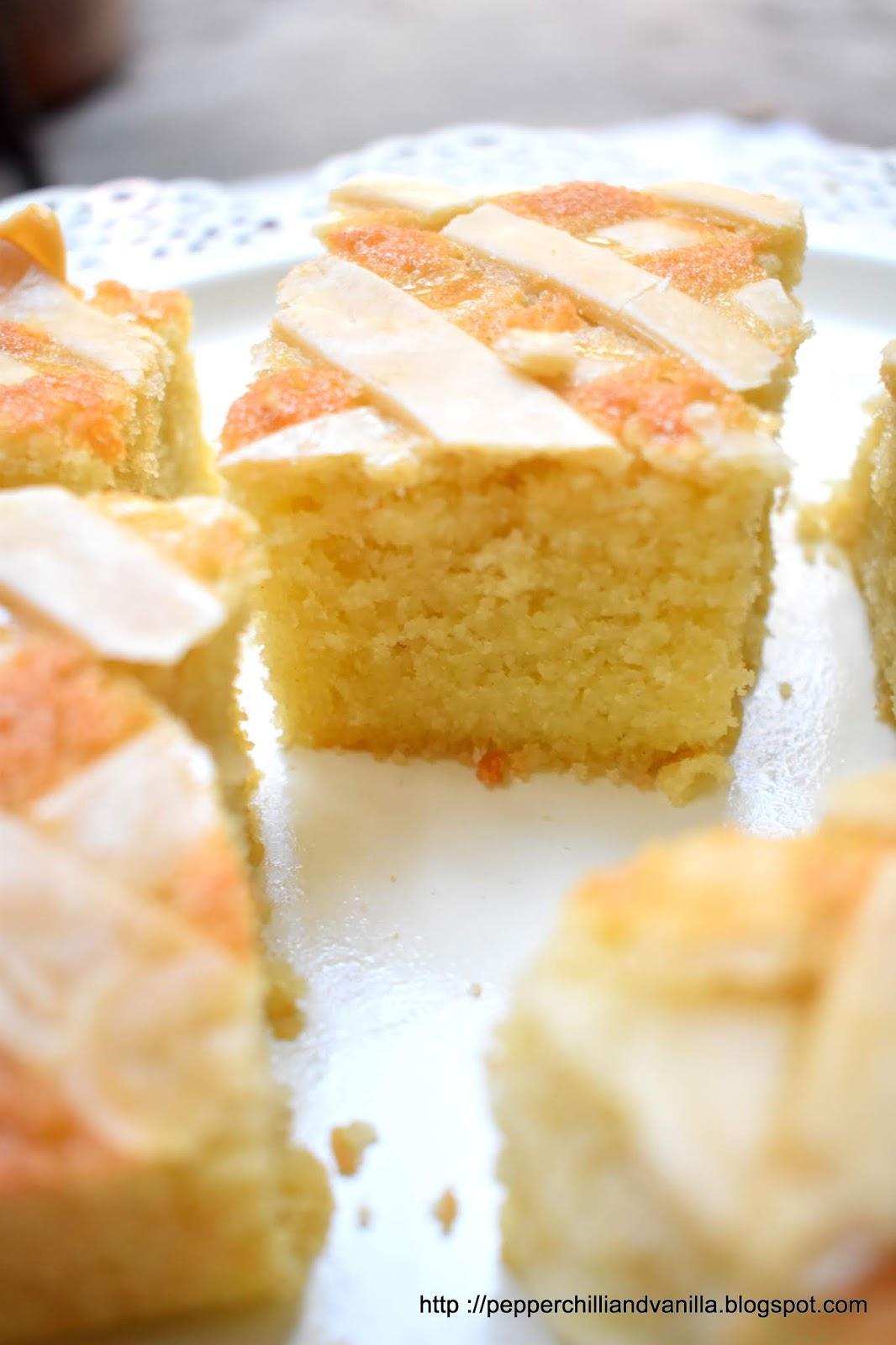 goan christmas cake,coconut semolina cake