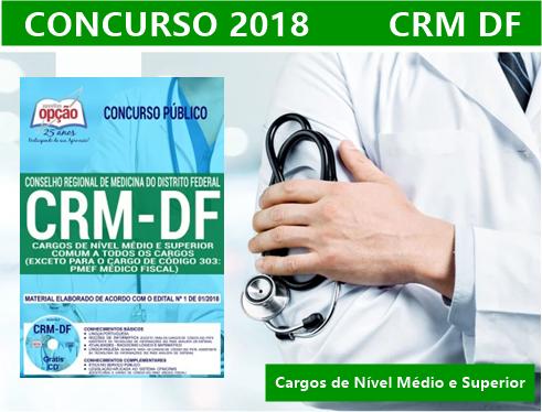 Concurso CRM DF 2018.