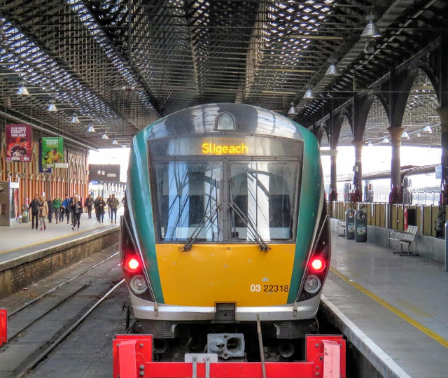 Irish Rail train to Sligo