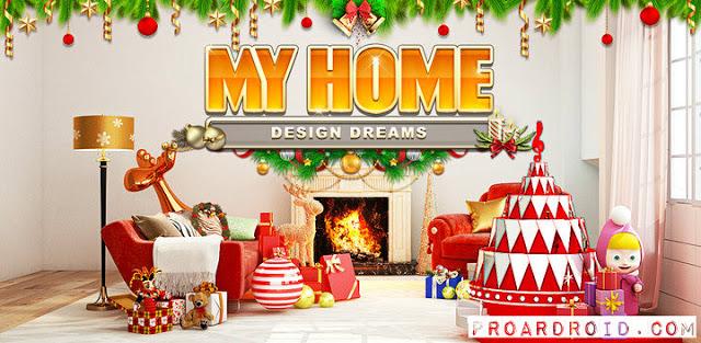 تحميل لعبة My Home Design Dreams v1.0.75 مهكرة للأندرويد logo