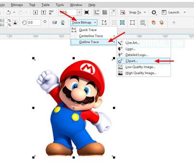 Mengubah Gambar atau Logo Jadi Vector di CorelDraw