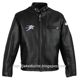 Gambar Jaket Kulit Suzuki Hayabusa