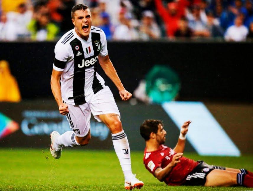 Senza Cristiano Ronaldo la Juventus vince 2-0 sul Bayern Monaco con doppietta di Favilli.