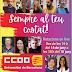 Candidatura CCOO a les eleccions del Comitè d'Empresa de PDI laboral
