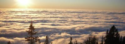 Ponad chmurami, Tatry - metafora szczęścia