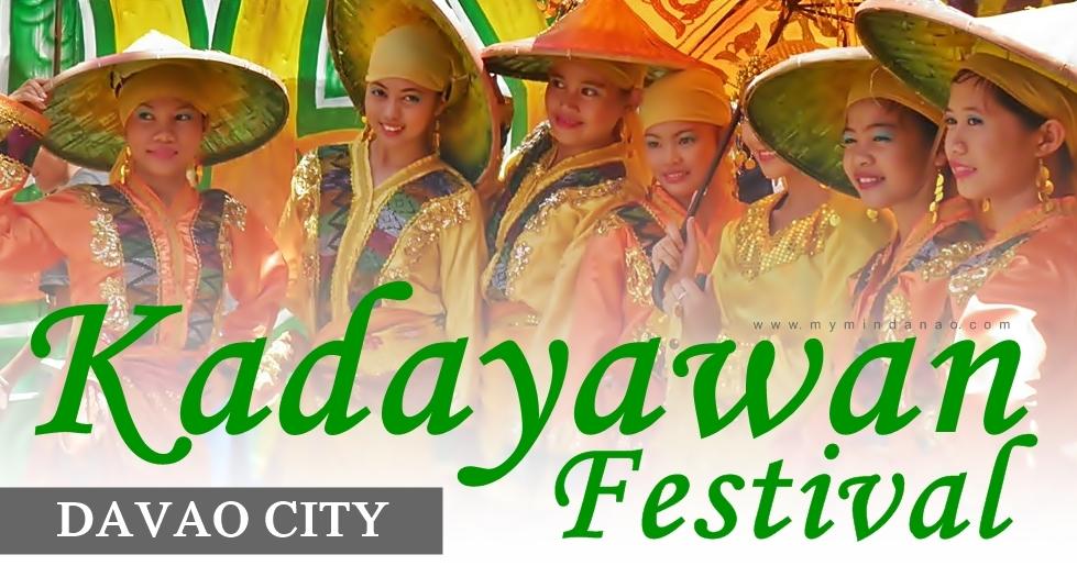 We're going to Kadayawan sa Davao this August