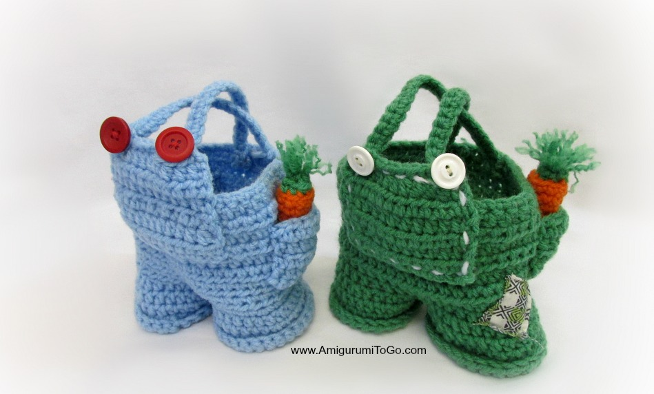Overalls For Dress Me Bunny Boy Clothes Amigurumi To Go