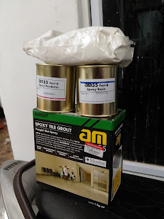 Bahan pengisi nat granit - AM 55