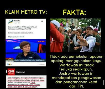 Metro tv memfitnah