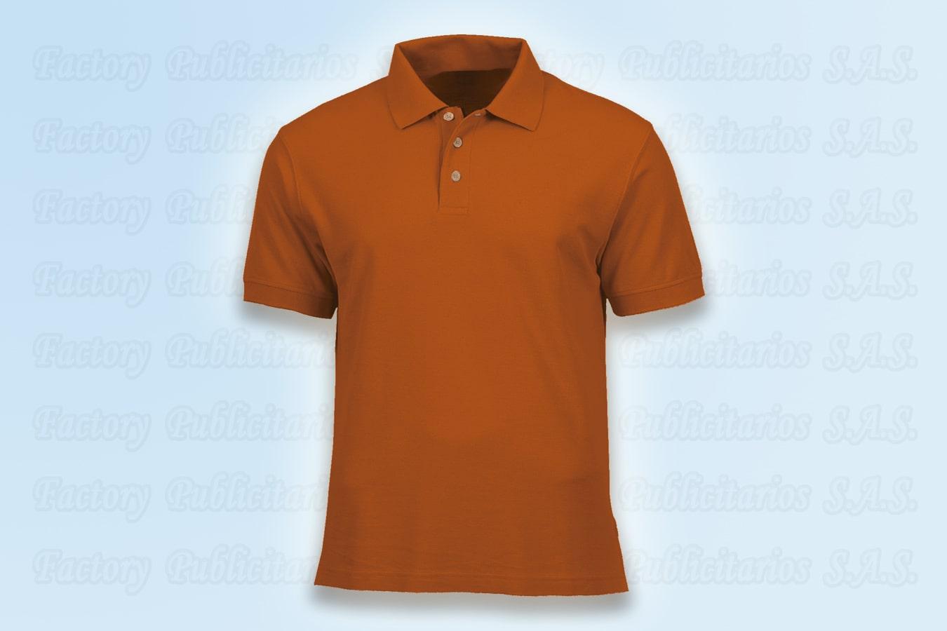 Camisas polo naranja al por mayor