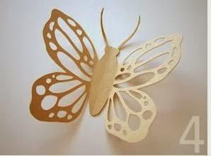 cmo hacer mariposas bonitas de papel