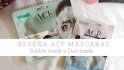 RESEÑA ACF BUBBLE MASK Y DUO MASK