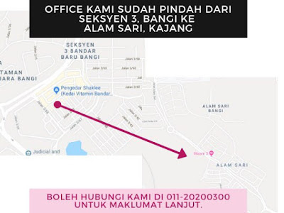 Kami Sudah Pindah Office