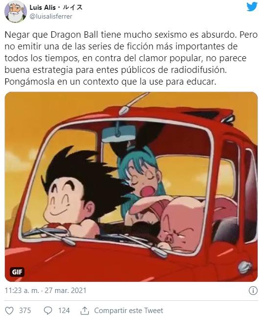 """Cancelan transmisión de Dragon Ball en España por """"sexista y no ser apta para niños"""""""